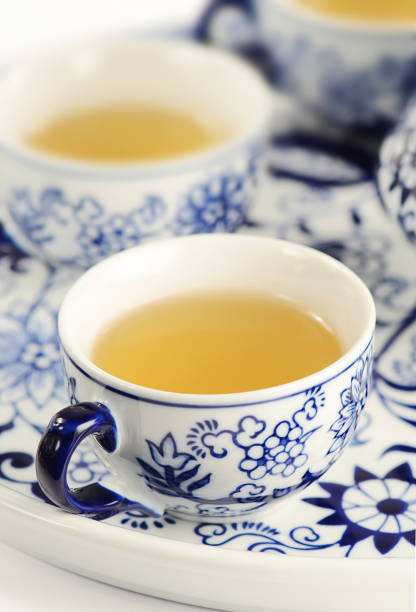 Fructus Green Tea stock photo
