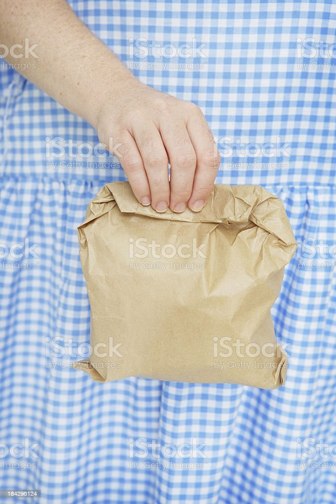 Frugal Lunch stock photo