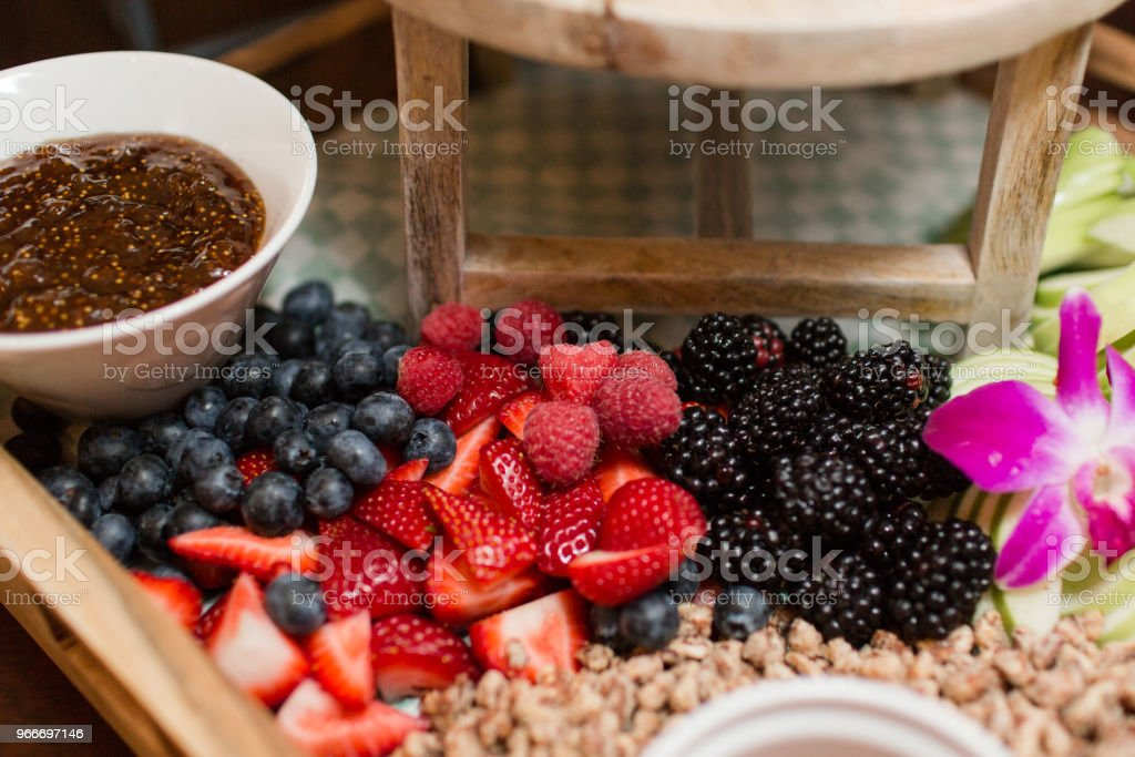 Fruit and Cheese stock photo