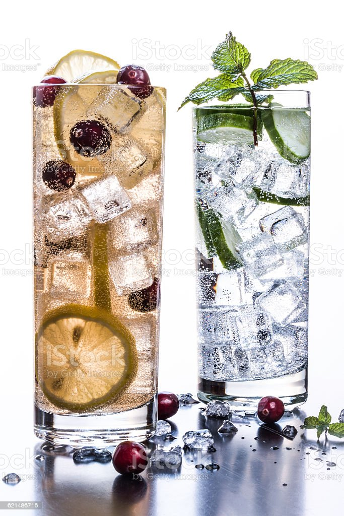 Fruit and Herb Beverage Lizenzfreies stock-foto