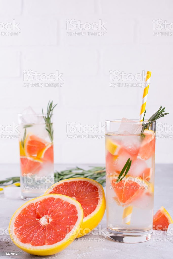 Fruit And Herb Infused Water Cold Refreshing Vitamin Detox