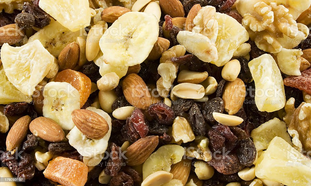 Fruit and Nut royalty-free stock photo