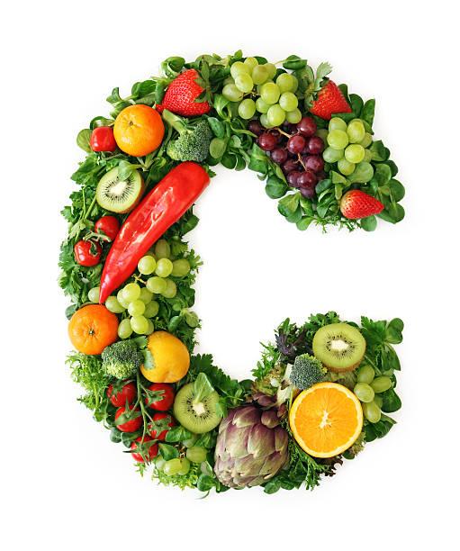 alfabeto de frutas e legumes - c - fotografias e filmes do acervo