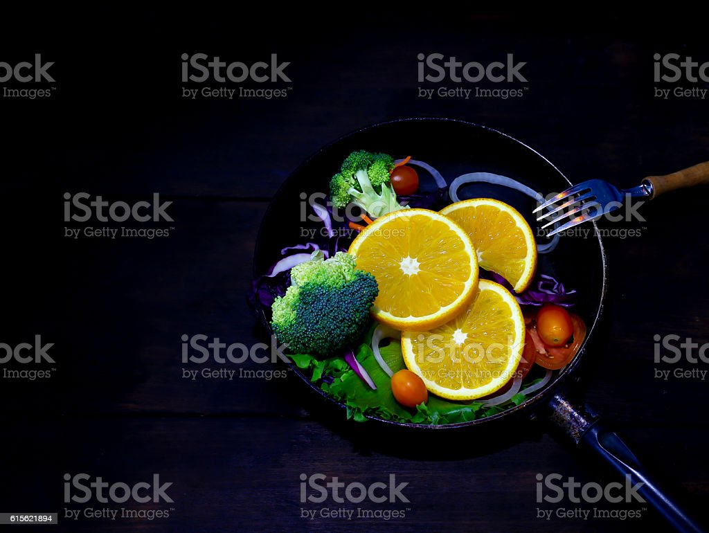 Fruit And Vegetable For Good Health Stock Photo - Download Image Now