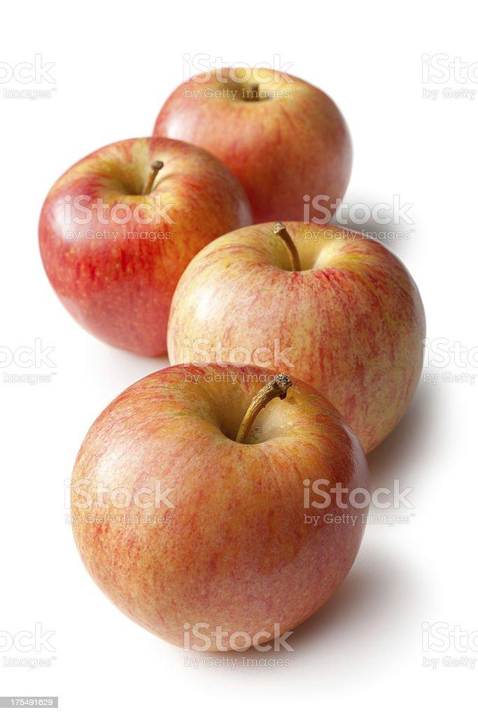 Fruit: Apple Isolated on White Background stock photo