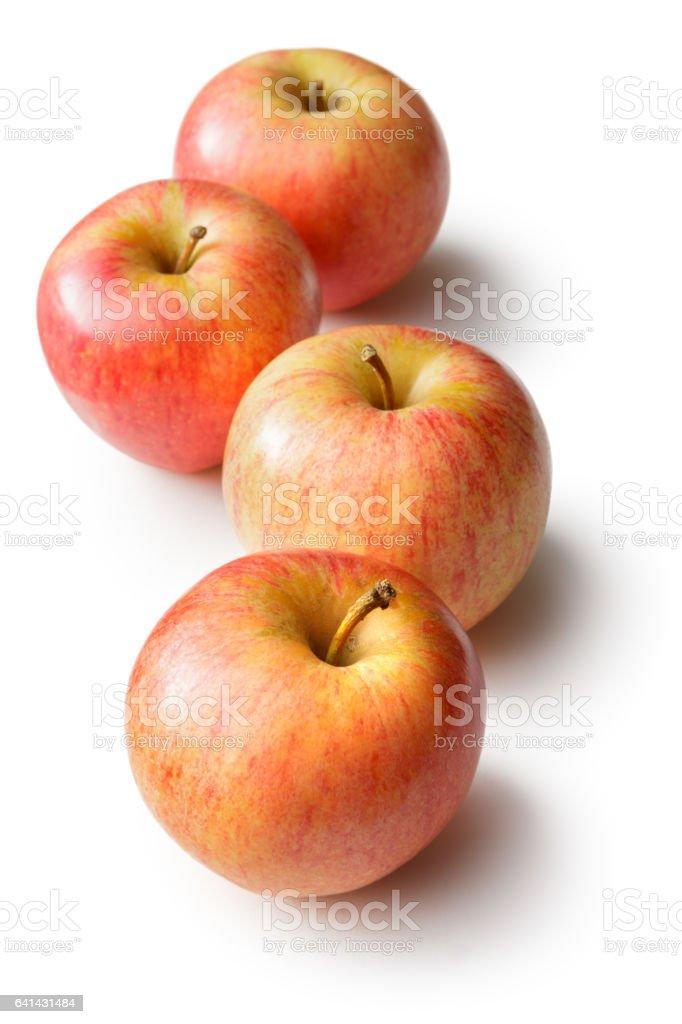 Fruit: Apples Isolated on White Background stock photo