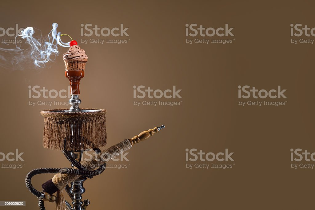 Fruit aroma hookah stock photo