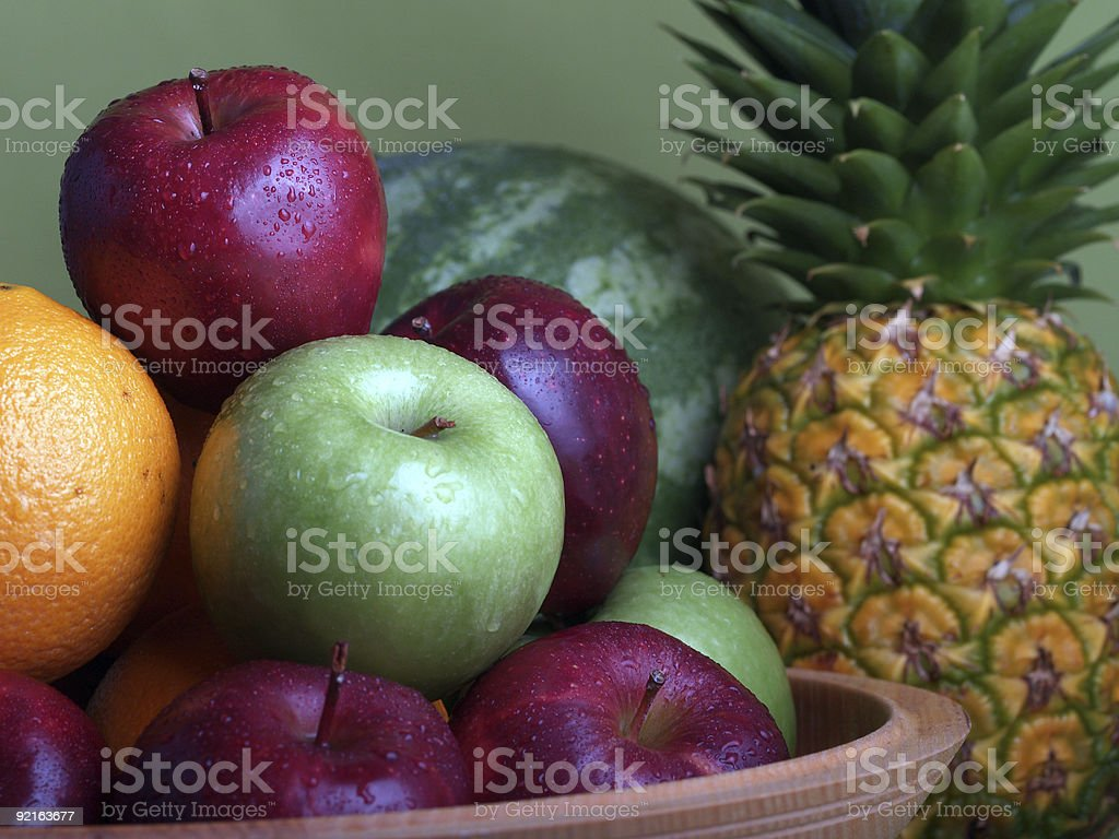 Fruit Arrangement - 3 royalty-free stock photo