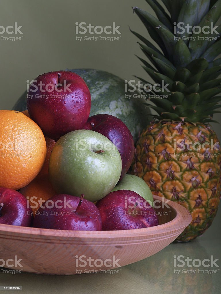 Fruit Arrangement - 4 royalty-free stock photo