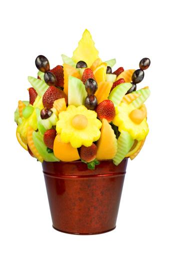 Colorful Fruit Arrangement