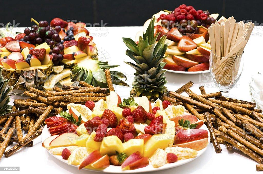 Assortimento di frutta foto stock royalty-free