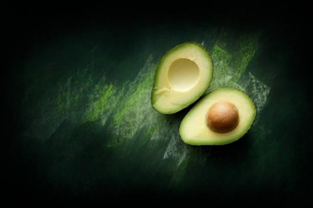 Fruit: Avocado Still Life stock photo