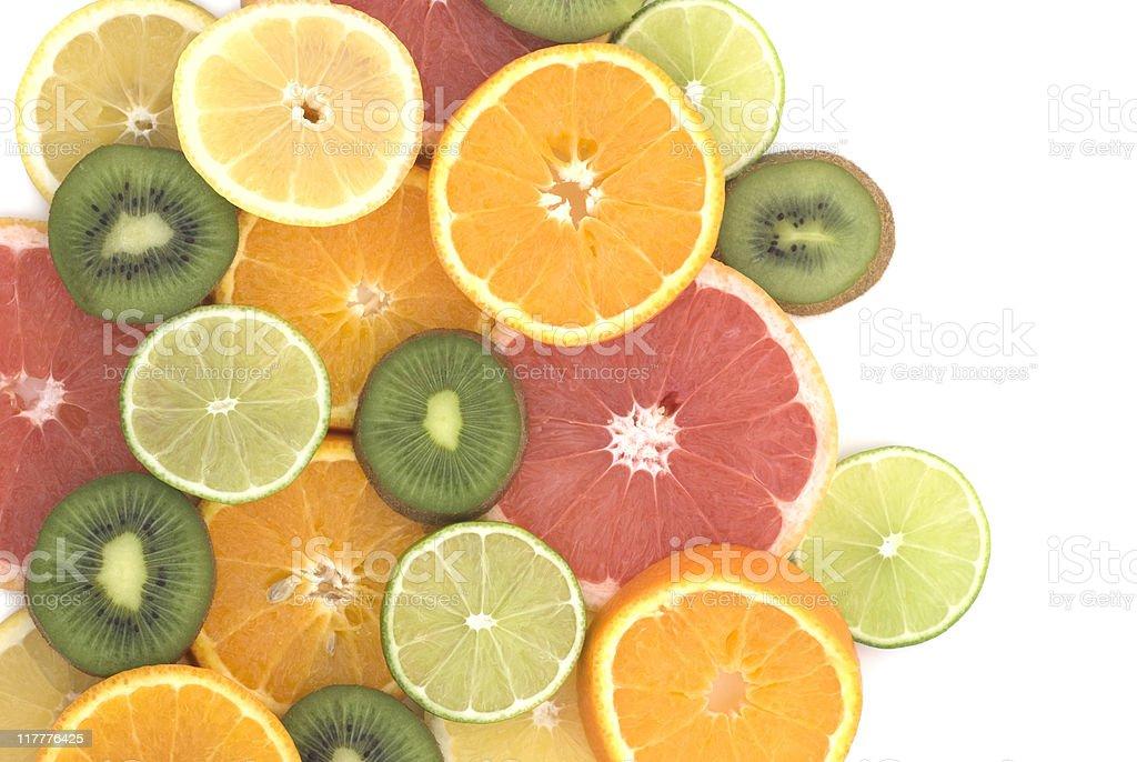 Fruit Background Pattern royalty-free stock photo
