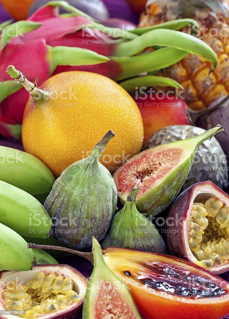 Obst-Hintergrund. Lizenzfreies stock-foto