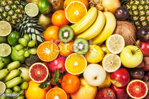 istock Fruit background 529664572