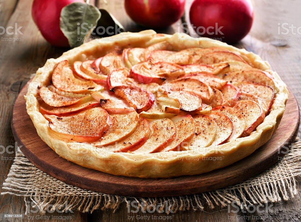 Fruit baking apple pie