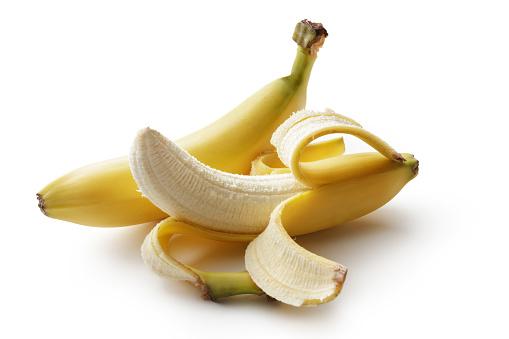 istock Fruit: Banana Isolated on White Background 609050082