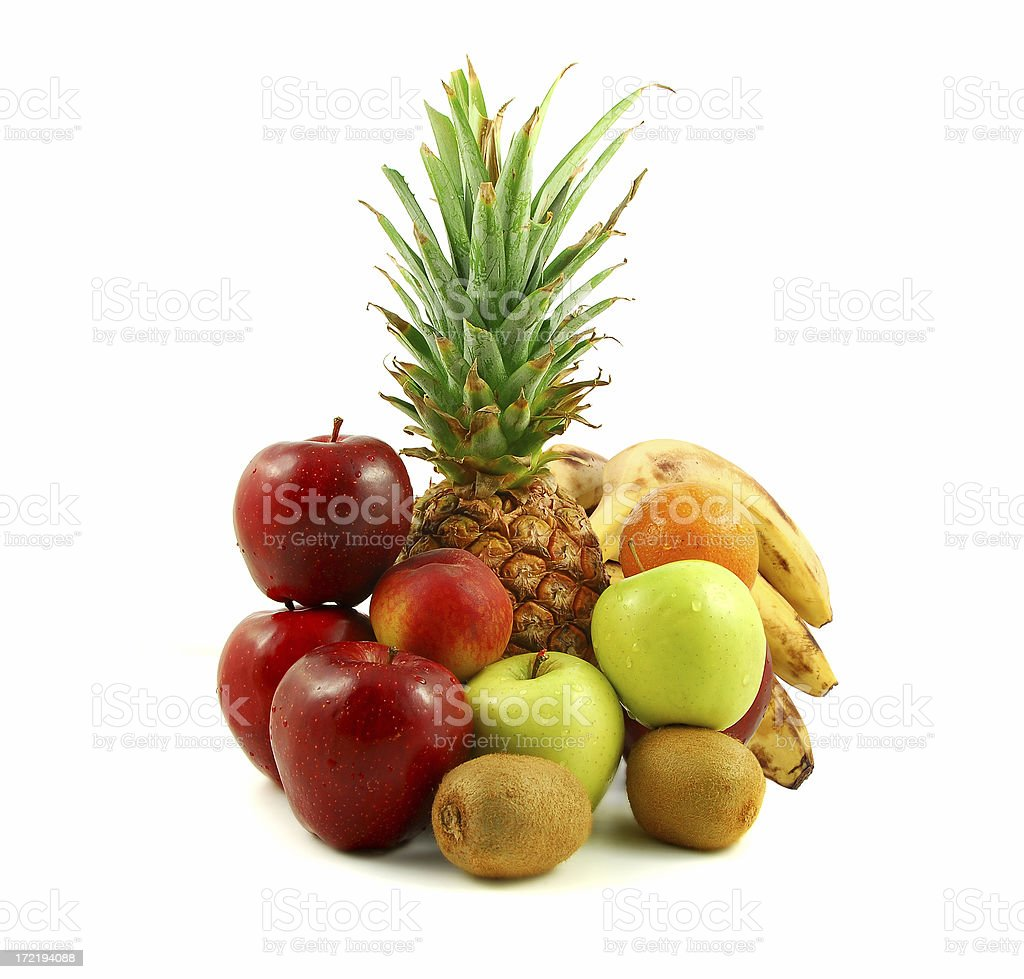 Fruit Basket Series royalty-free stock photo