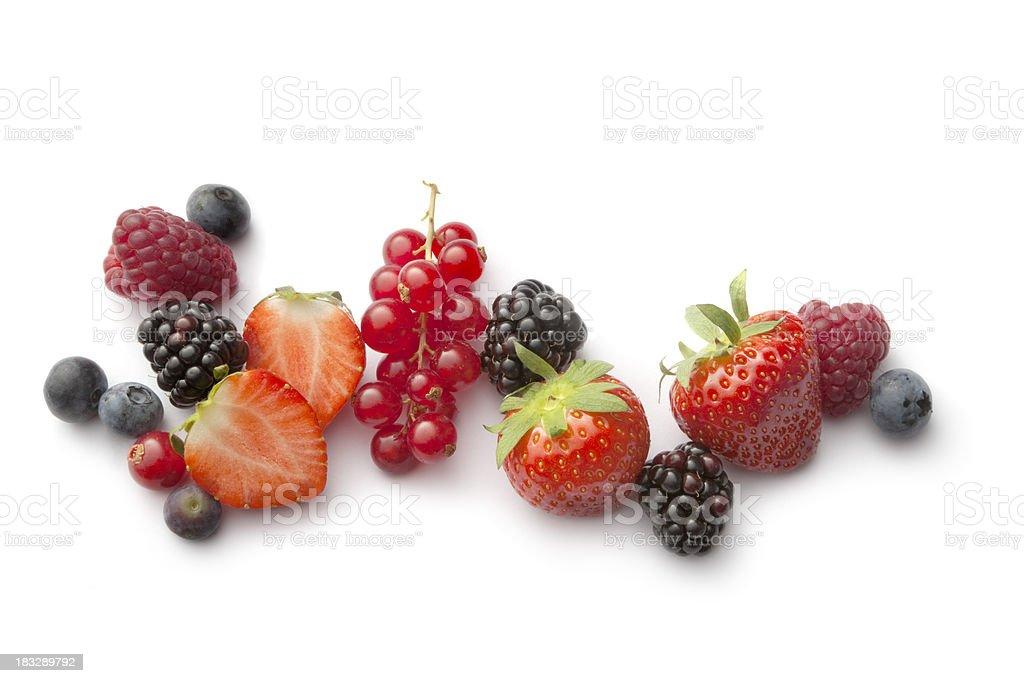 Fruit: Berries royalty-free stock photo