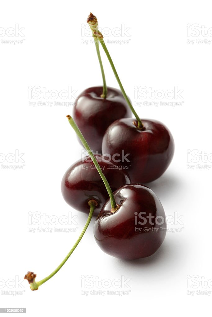 Fruit: Bing Cherry stock photo