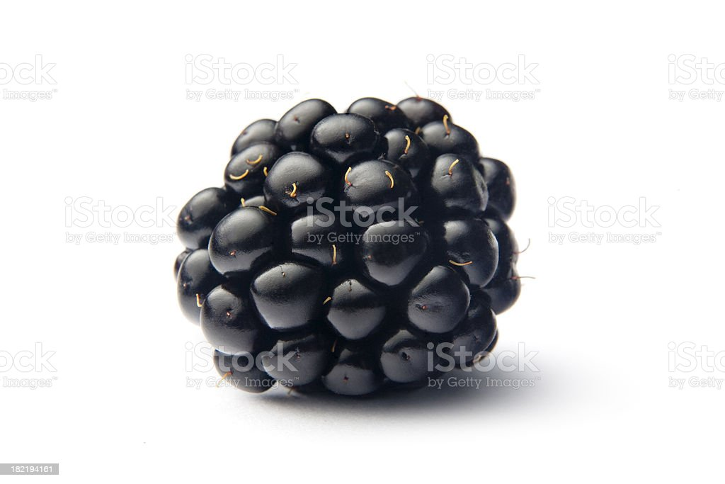 Fruit: Blackberry stock photo