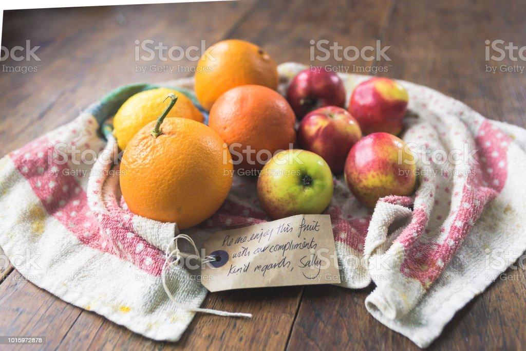 Fruit bundle stock photo