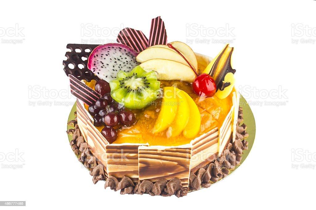 Fruit Cake Happy Birthday