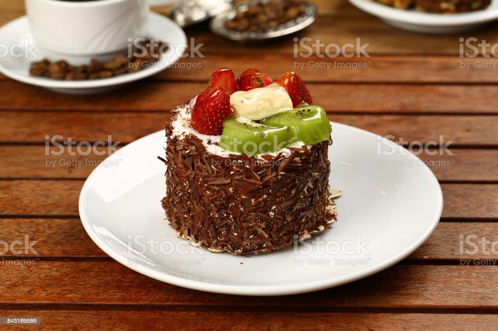 Gâteau aux fruits - Photo