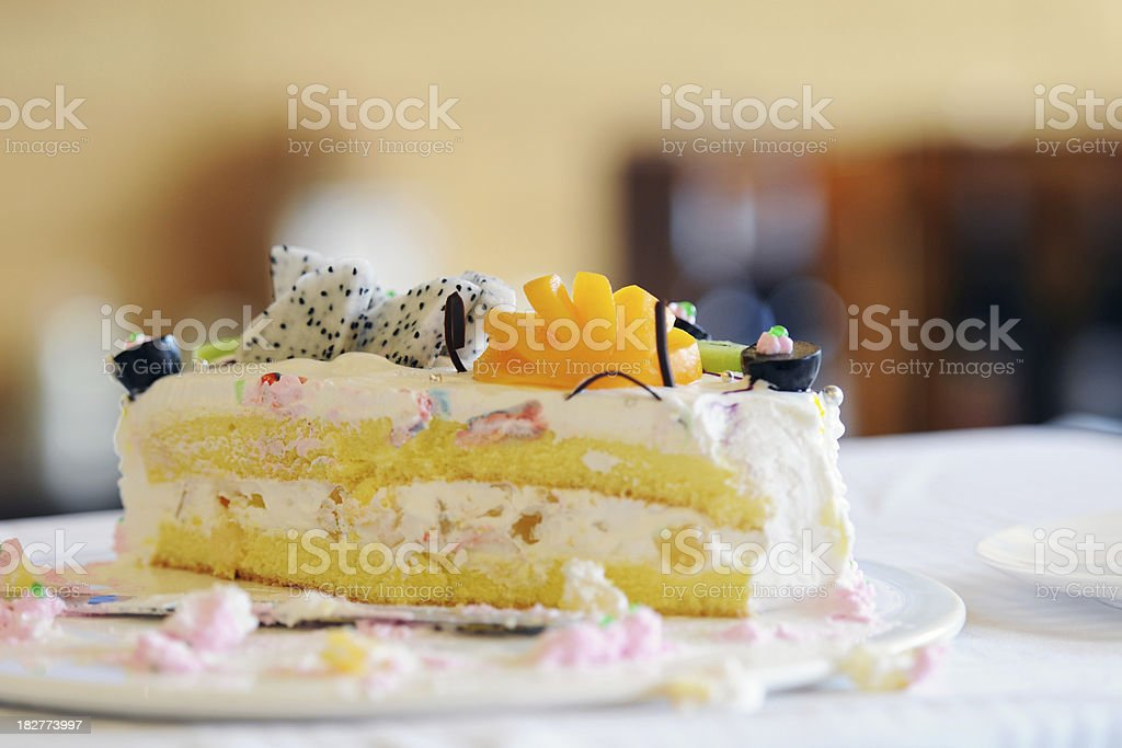 Fruit Cake - XLarge royalty-free stock photo