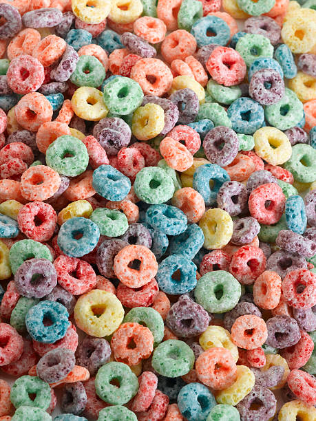 Fruit Cereal stock photo