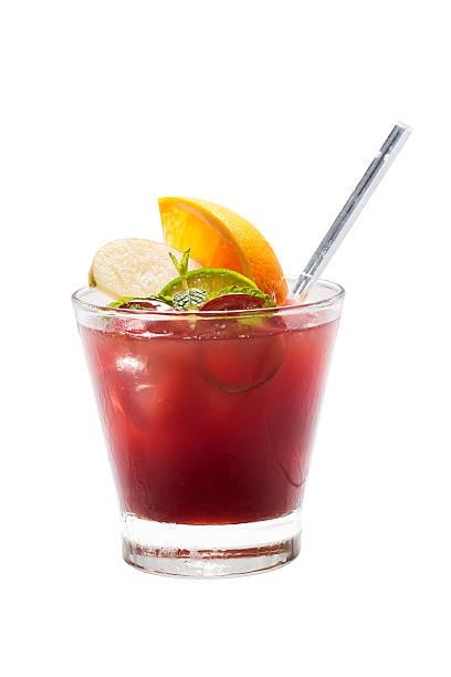 Frucht-cocktail, isoliert – Foto
