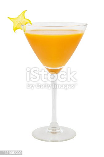 Fruits Cocktail against white background