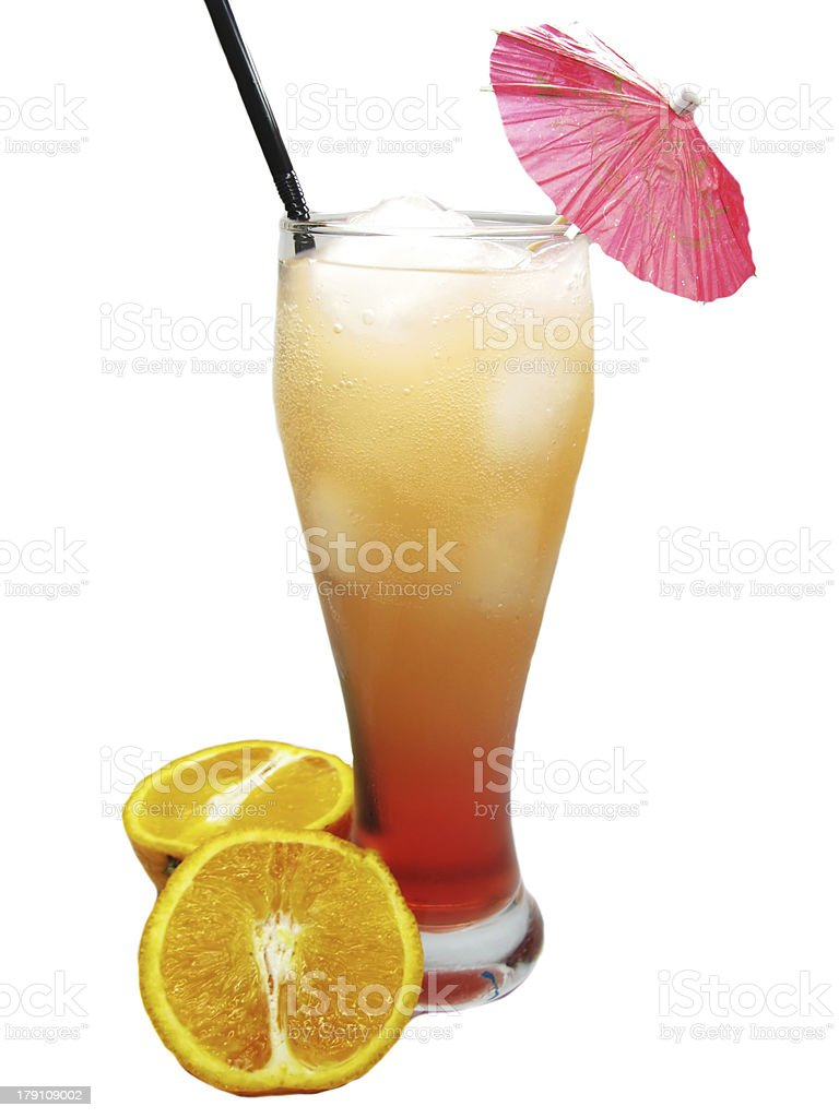 fruit cold juice drinks with orange royalty-free stock photo