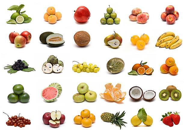 colección de frutas. - melonenbirne stock-fotos und bilder