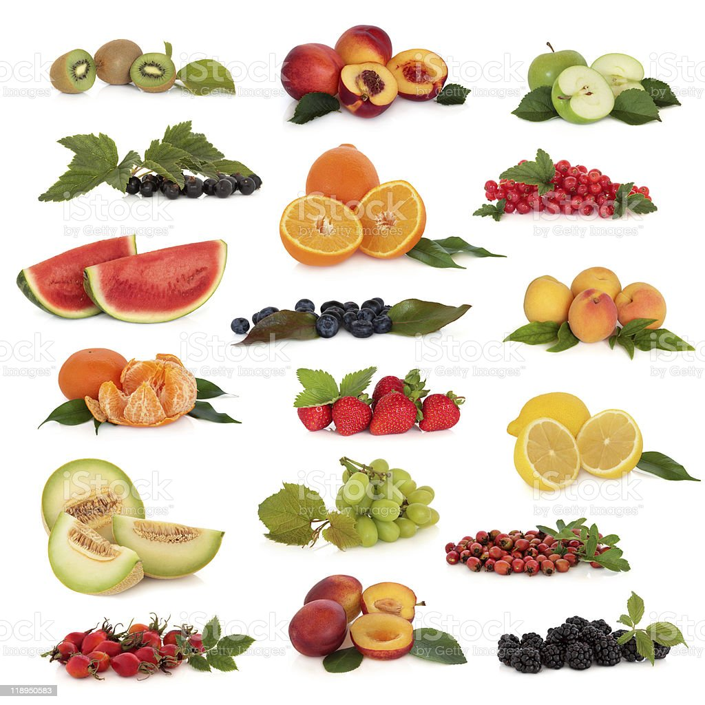 Fruit Collection royalty-free stock photo