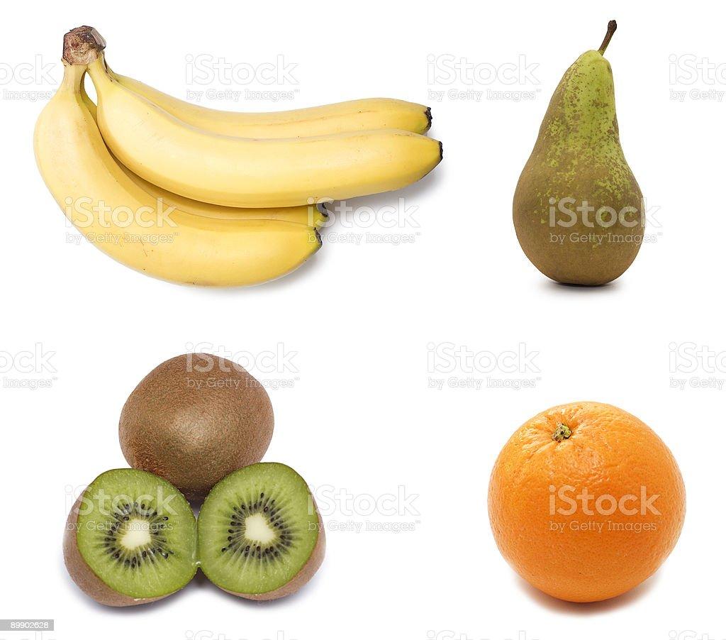 Obst-Kollektion Lizenzfreies stock-foto