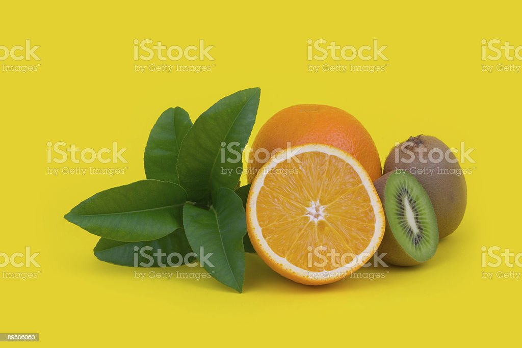Fruit composition royalty-free stock photo