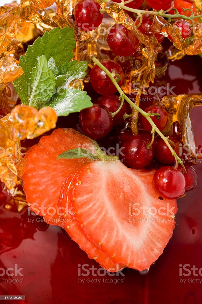 Fruit dessert royalty-free stock photo