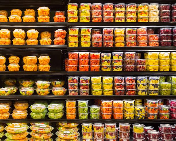 Fruit Display stock photo