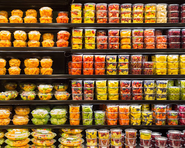 Fruit Display stock photo
