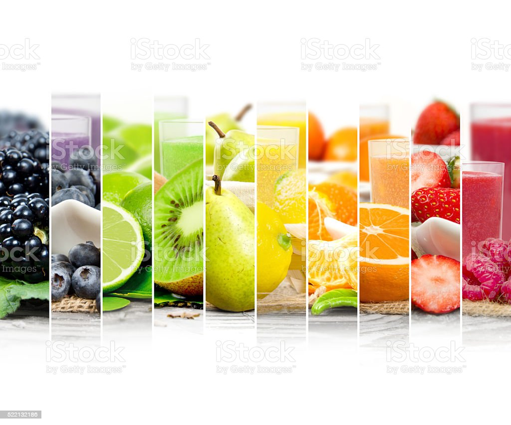 Fruit Drink Mix stock photo