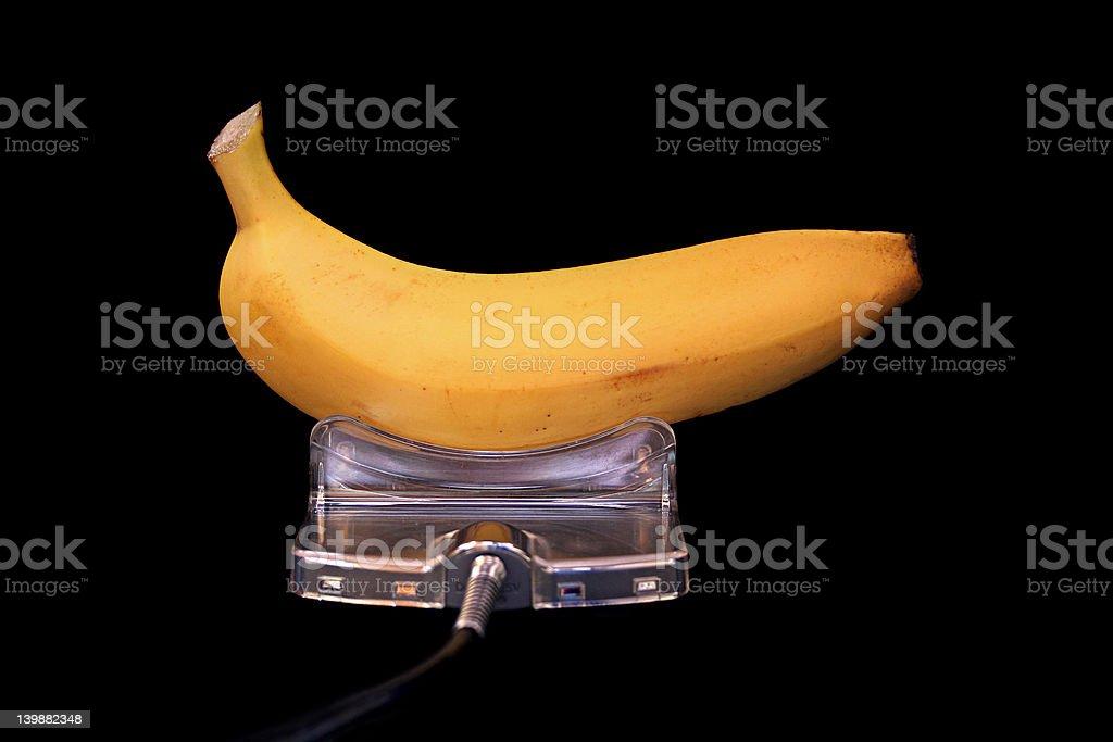 Fruit Energy - banana royalty-free stock photo
