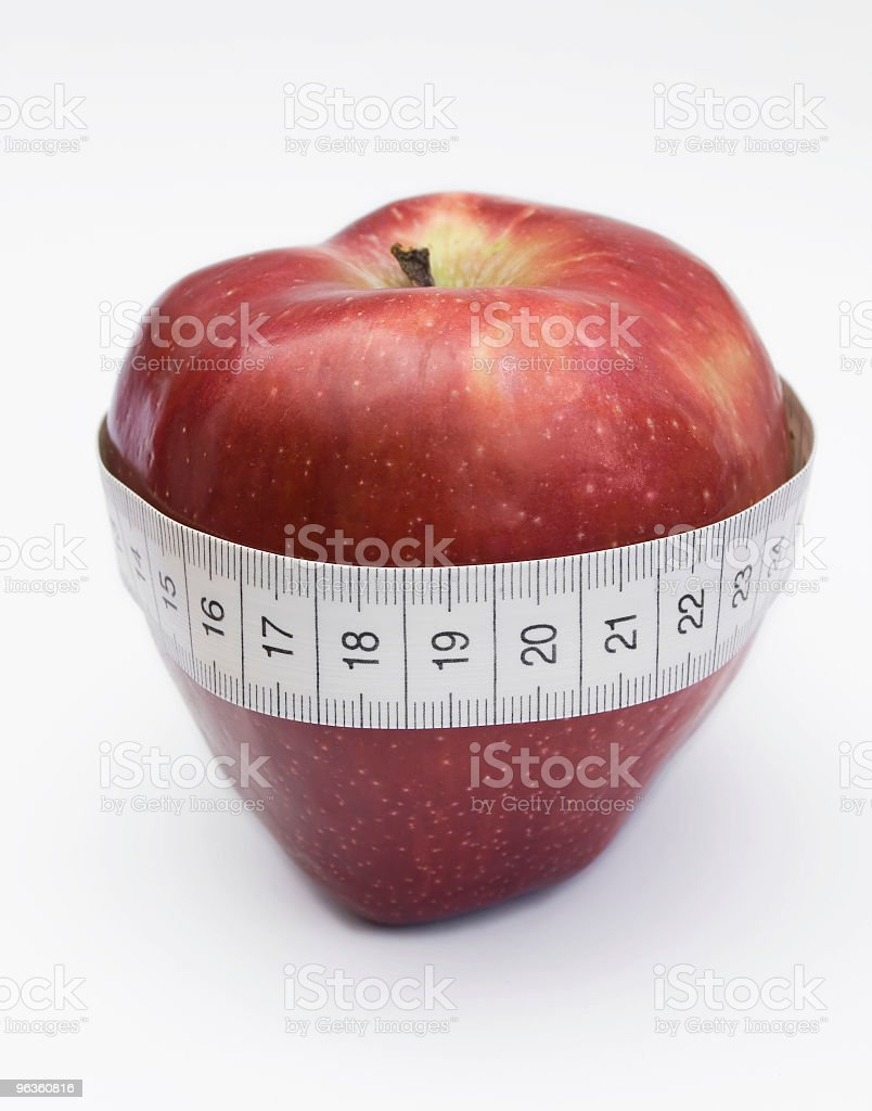 Fruit & Fitness royalty-free stock photo