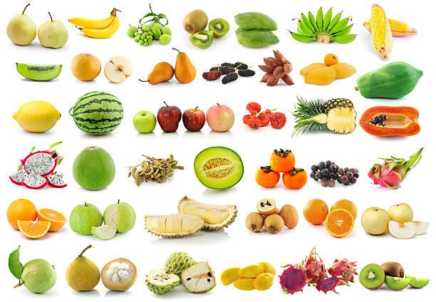 obst für gesunde - melonenbirne stock-fotos und bilder
