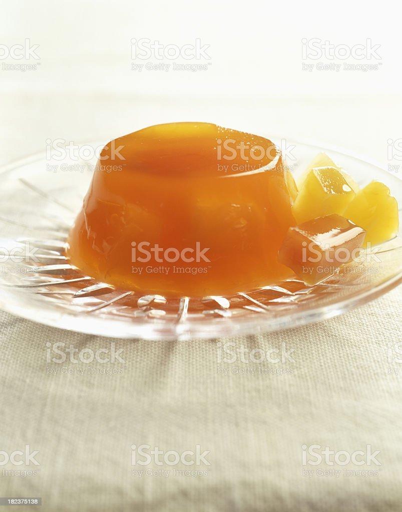 Fruit Gelitin Dessert royalty-free stock photo