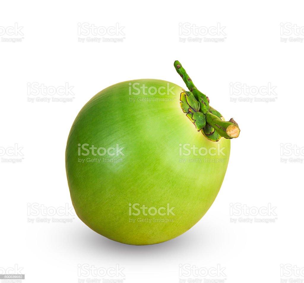 Frutas, verde coconuts - foto de stock