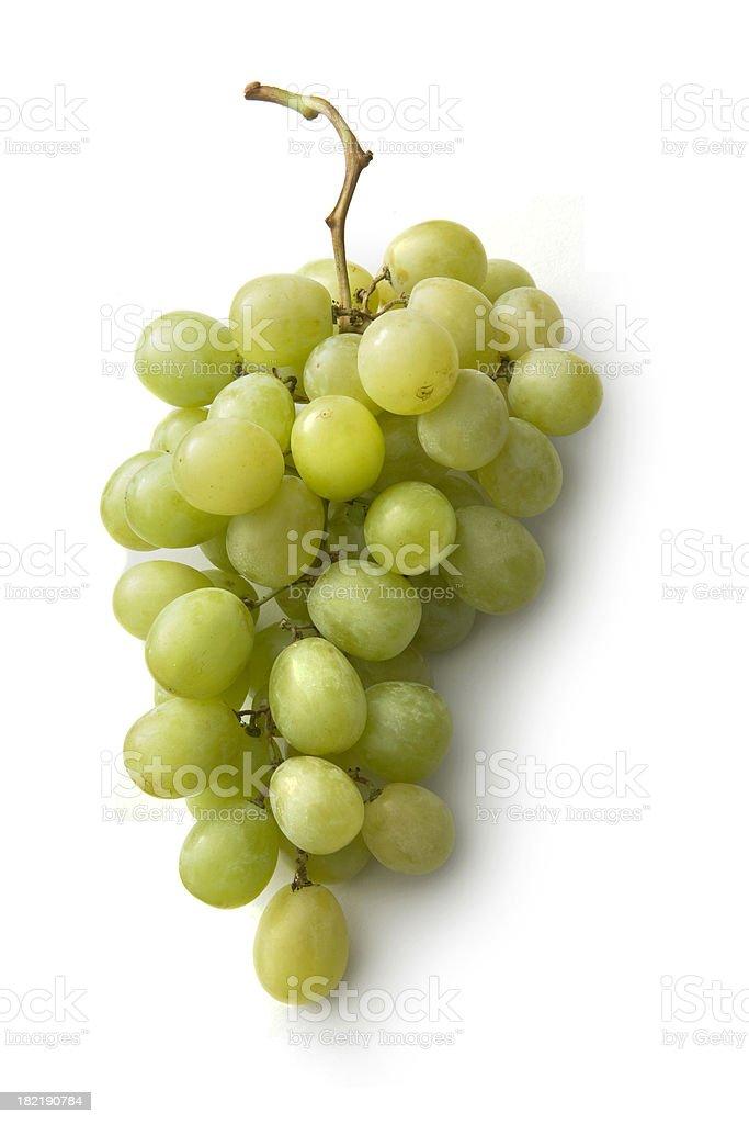 Fruit: Green Grapes royalty-free stock photo