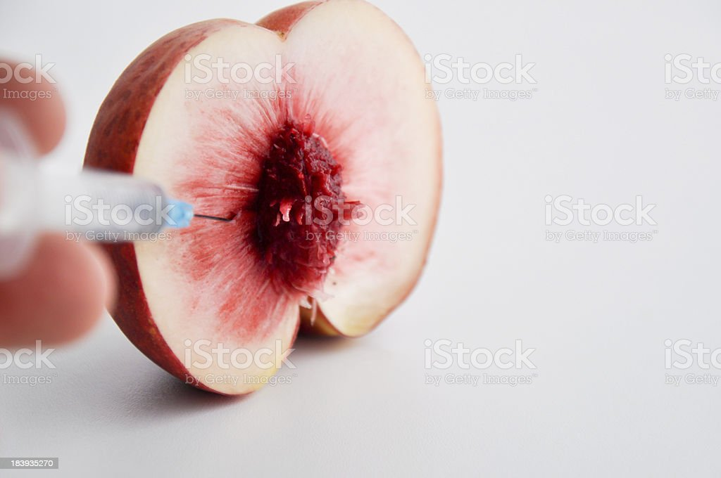 fruit hybrid experiment royalty-free stock photo