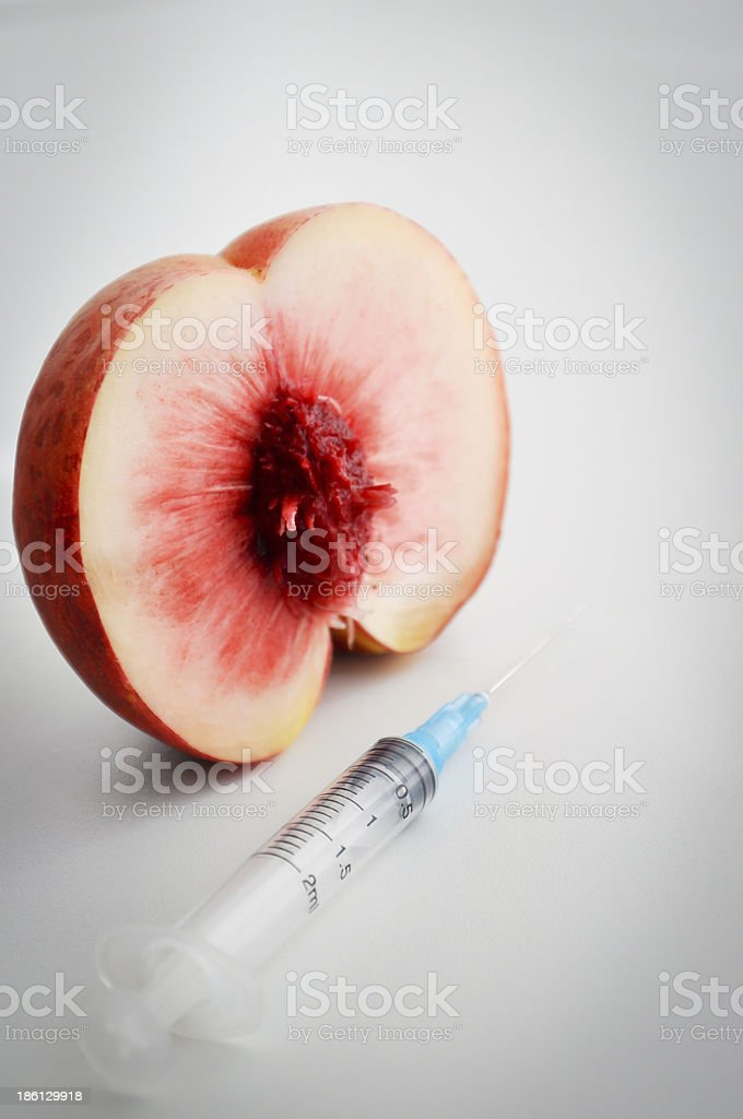 fruit hybrid experiment royalty-free stock photo