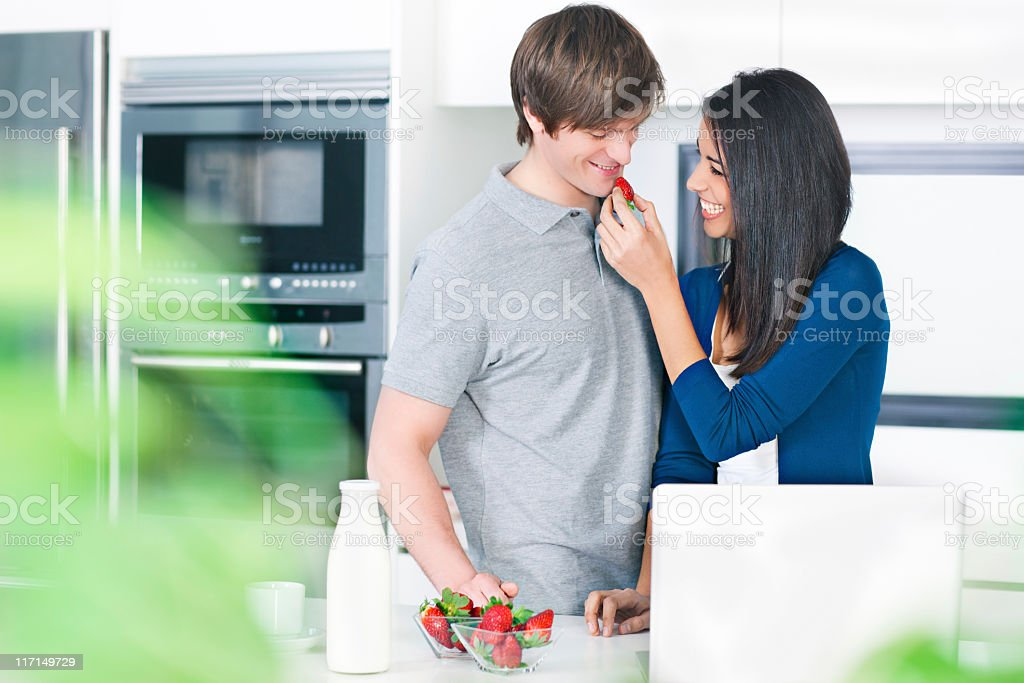 Fruit in the morning royalty-free stock photo